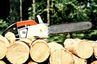 1966: STIHL 040 chainsaw
