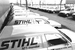 1980: Launch of STIHL France