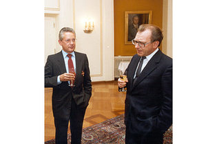 1982: Federal Cross of Merit for Hans Peter Stihl
