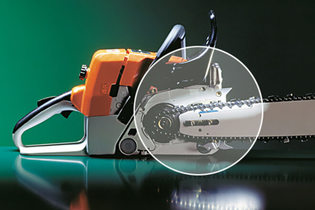 1987: Ematic system for chainsaws