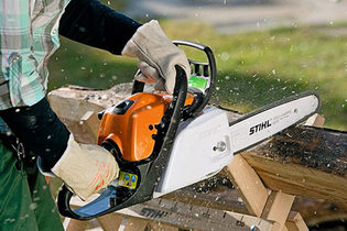 2008: MS 211 C-BE chainsaw – the new entry-level class